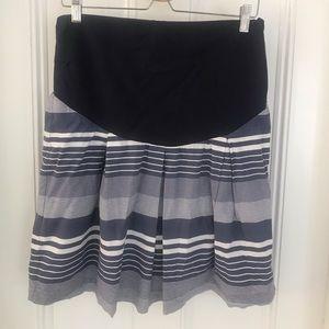 Jojo Maman Bebe cotton maternity skirt